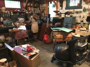 A wreck of a studio!