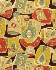 Textile design. 1950s.